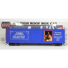 Norman Rockwell 50' Freedom of Speech Boxcar # 08587