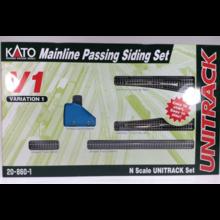 Kato Trains Kato Unitrack V1 Set Mainline Passing Siding Set # 20-860