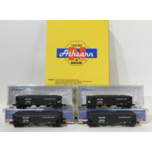 Athearn N DLW 40' 3 Bay Hopper 4 pack #ATH5128