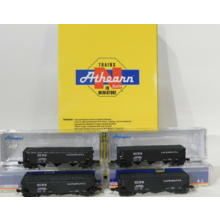 Athearn N DLW 40' 3 Bay Hopper 4 pack #ATH5129