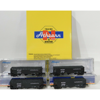 Athearn N DLW 40' 3 Bay Hopper 4 pack #ATH5129