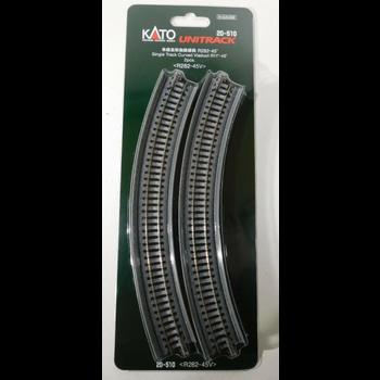 Kato Trains Kato N Unitrack Single Viaduct Curve tracks  R-11 # 20-510