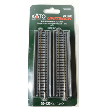 Kato N Viaduct Single Straight 124MM Track #20-420