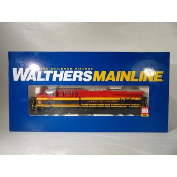 Pre-owned Walthers HO GE ES44 Evolution Kansas City Southern Locomotive # 4868 # 910-20172