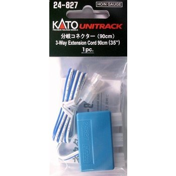 Kato Trains Kato N 3-Way Extension Cord/90cm # 24-827