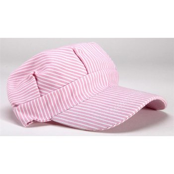 Trains on Tracks Pink Engineer Cap #102 # TOTE1
