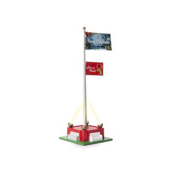 lionel O Christmas Joy Flagpole # 2129220