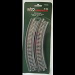 Kato Trains Kato N Unitrack Single Viaduct Curve tracks  R-9-3/4 # (2) 20-505