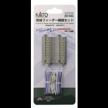 Kato Trains Kato N Concrete Tie Double Track Feeder # 20-043
