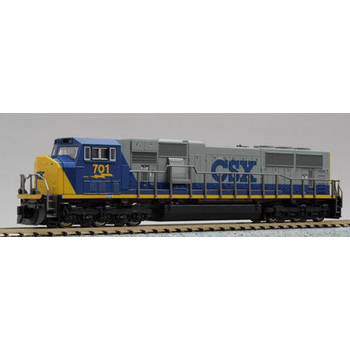 Kato Trains Kato N Scale CSX SD70 Mac #176-6307