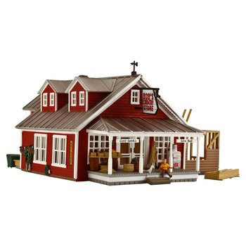 Woodland Scenics HO Country Store Expansion Assembled # BR5031