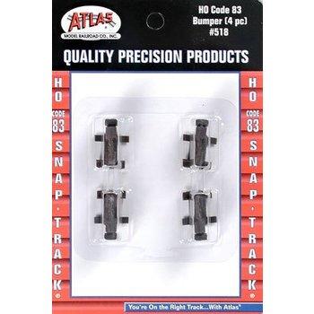 Atlas HO Code 83 Bumper (4) # 518