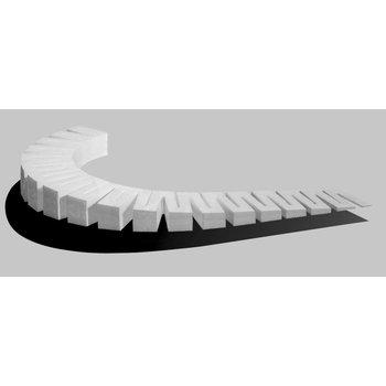 Woodland Scenics Foam Incline Starter-3% 6pc ST1415