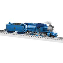Lionel O BTO Camelback 4-6-0 Central New Jersey Blue Comet #770 Steam # 2131390