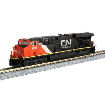 Kato Trains Kato N Scale Dc Canadian National ES44AC # 176-8938
