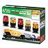 Kato Trains Kato N ES44AC Freight Train Set, CSX/Dark Future # 106-0021