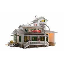 Woodland Scenics O Gauge H&H Feed Mill # BR5859 # TOTES1