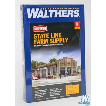 Walthers N State Line Farm Supply Kit # 933-3808