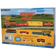 Bachmann N DCC BNSF Roaring Rails Starter Set # 24132