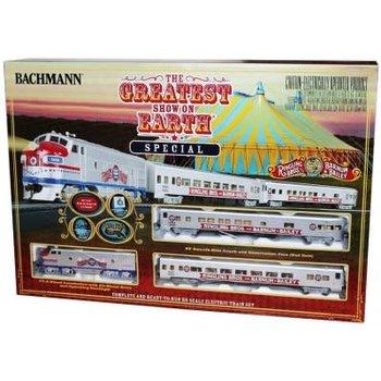 Bachmann HO RBB&B Greatest Show On Earth Special .Set/F7A Diesel # 00749
