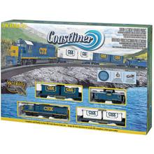 Bachmann HO Coastliner Train Set # 00734