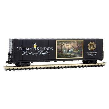 Micro Trains Line N Thomas Kinkade Painter of light car # 102-00-802