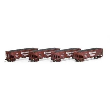 Athearn N Southern Pacific offset Hopper cars 3 Pack # ATH5126
