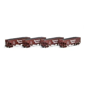 Athearn N Southern Pacific offset Hopper cars 3 Pack # ATH5125