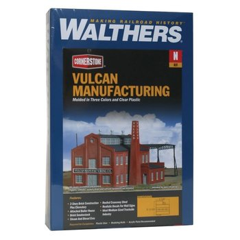 Walthers N Scale Vulcan Manufacturing Kit # 933-3233