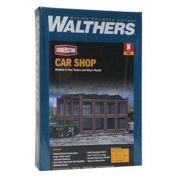 Walthers N Car Shop Kit - 7 x 5-1/4 x 4-3/4 # 933-3228