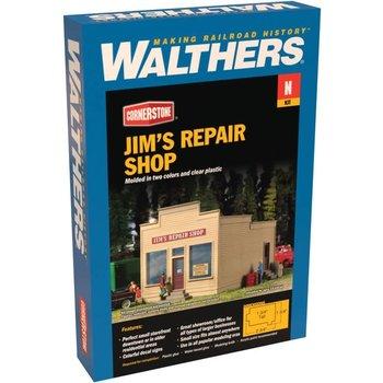 Walthers N Scale Jim,s Repair Shop # 933-3229