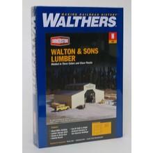 Walthers N Walton & Sons Lumber Kit # 933-3235