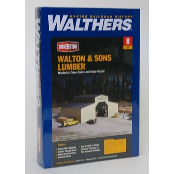 Walthers N Walton & Sons Lumber Kit # 933-3235
