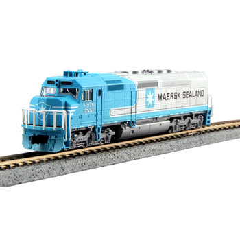 Kato Trains Kato N Scale BNSF Maersk SDP40F Loco #6976 # 176-9241