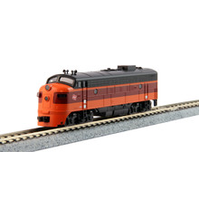 "Kato Trains Kato N Scale Milwaukee Road Diesel Loco #90C"" # 176-2302"