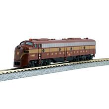 """Kato Trains Kato N Scale PRR E8A Diesel Loco #5898"""" #176-2125"""