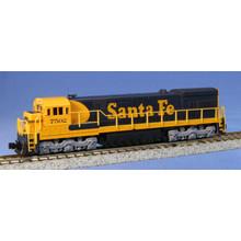 Kato Trains Kato N Santa Fe U23C #7502 Diesel Loco # 176-0931