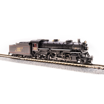 Broadway Limted N Maine Central #624 Mikado Steam loco DCC & Sounds # 5973