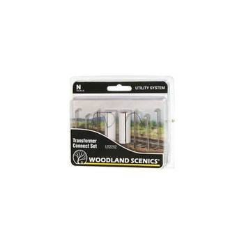 Woodland Scenics N Utility System Transformer Connect Set # US2252
