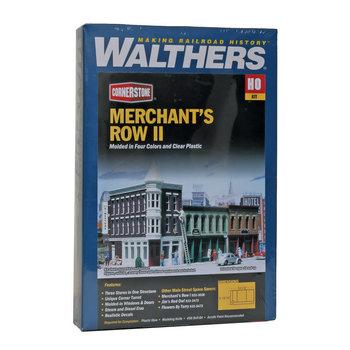Walthers HO Merchants Row 2 Kit # 933-3029