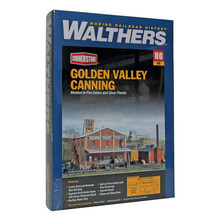 Walthers HO Golden Valley Canning Co. Kit # 933-3018
