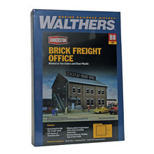 Walthers HO Brick Freight Office # 933-2953