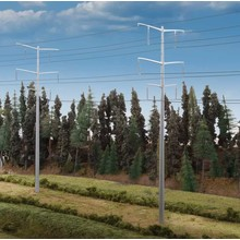 Walthers HO Modern High Voltage Transmission Towers # 933-3343