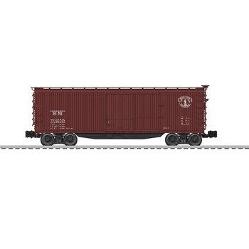 Lionel O Boston & Maine # 70255 Scale Double Sheath Boxcar # 6-83348