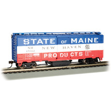 Bachmann HO Scale Bangor & Aroostook 40' Steel Boxcar Track Cleaning Car  #16320