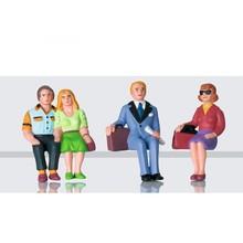 LGB G Traverlers Sitted Figures set # 53006