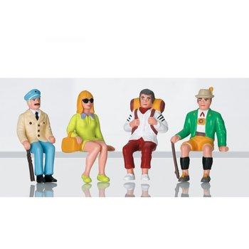 LGB G Sitting Figures set # 53007