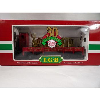 LGB G 30th Birthday Flatcar C#195 1968-1998 # 41124