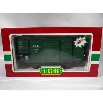 Pre-Owned LGB G  Steam Sounds Boxcar #C195 # C#198 # 41352