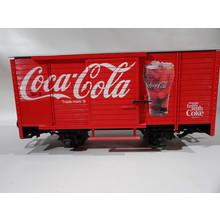 LGB G  Coke Sounds Boxcar # 45352